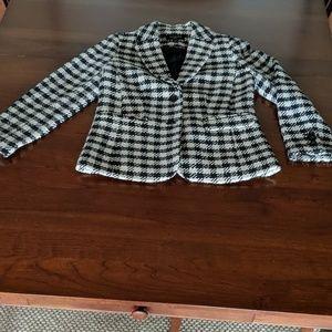 Talbot's checkered Blazer